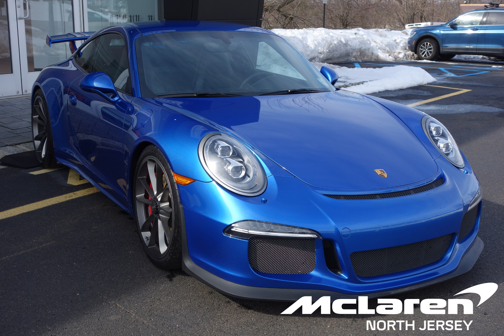 Used 2016 Porsche 911 GT3 for sale $130,000 at McLaren North Jersey in Ramsey NJ 07446 1