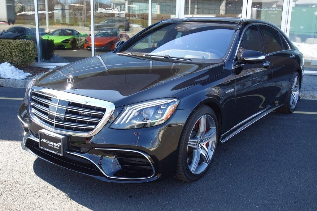 Used 2019 Mercedes-Benz S-Class S 63 AMG® for sale $129,000 at McLaren North Jersey in Ramsey NJ 07446 10