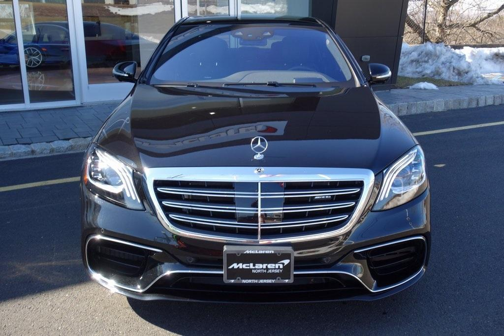 Used 2019 Mercedes-Benz S-Class S 63 AMG® for sale $129,000 at McLaren North Jersey in Ramsey NJ 07446 2