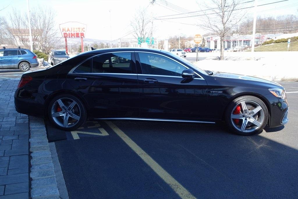 Used 2019 Mercedes-Benz S-Class S 63 AMG® for sale $129,000 at McLaren North Jersey in Ramsey NJ 07446 4