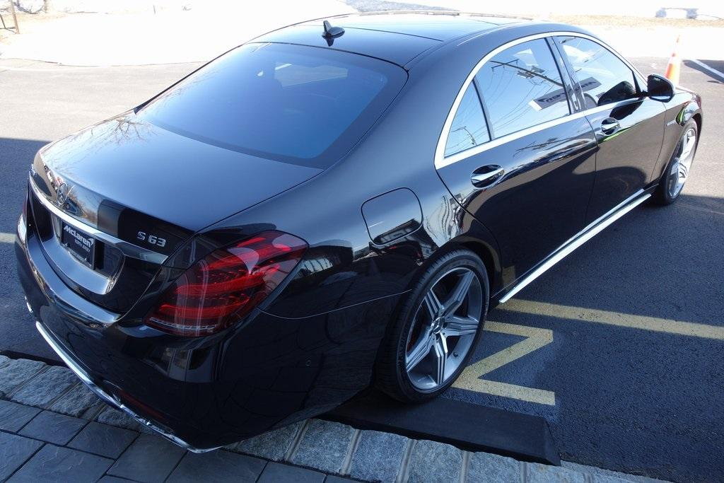 Used 2019 Mercedes-Benz S-Class S 63 AMG® for sale $129,000 at McLaren North Jersey in Ramsey NJ 07446 7