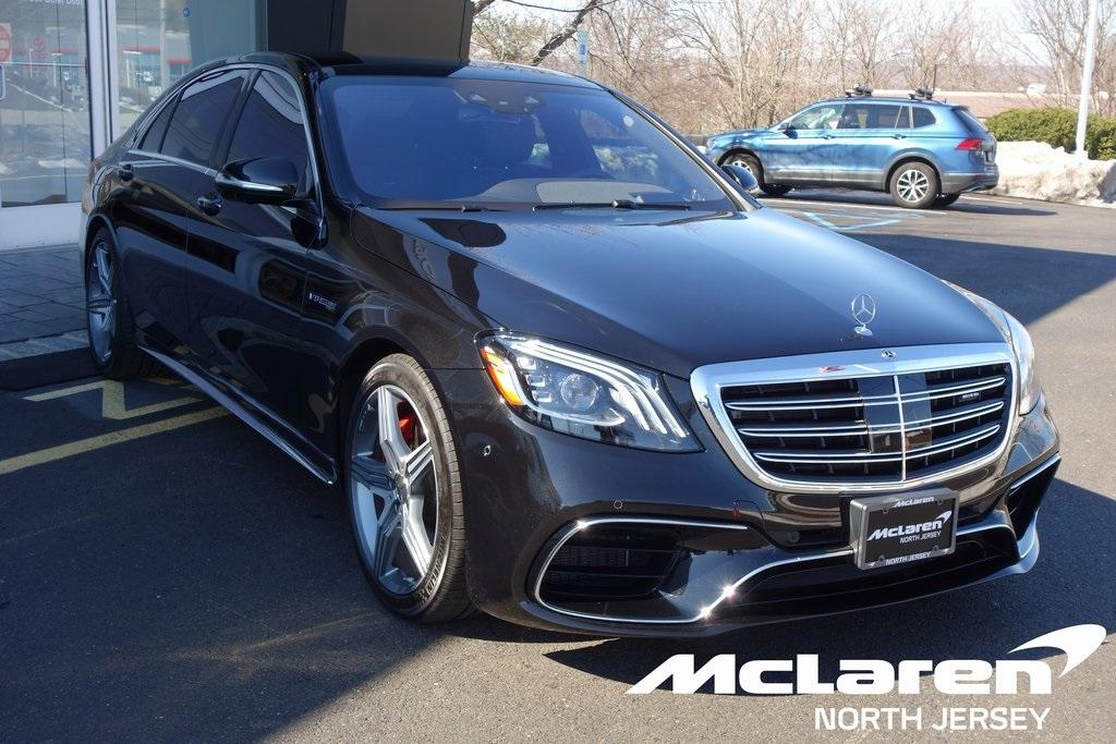 Used 2019 Mercedes-Benz S-Class S 63 AMG® for sale $129,000 at McLaren North Jersey in Ramsey NJ 07446 1
