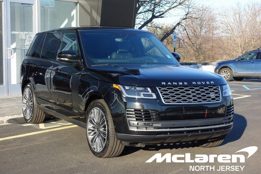 Used 2019 Land Rover Range Rover 5.0L V8 S/C for sale Sold at McLaren North Jersey in Ramsey NJ 07446 1