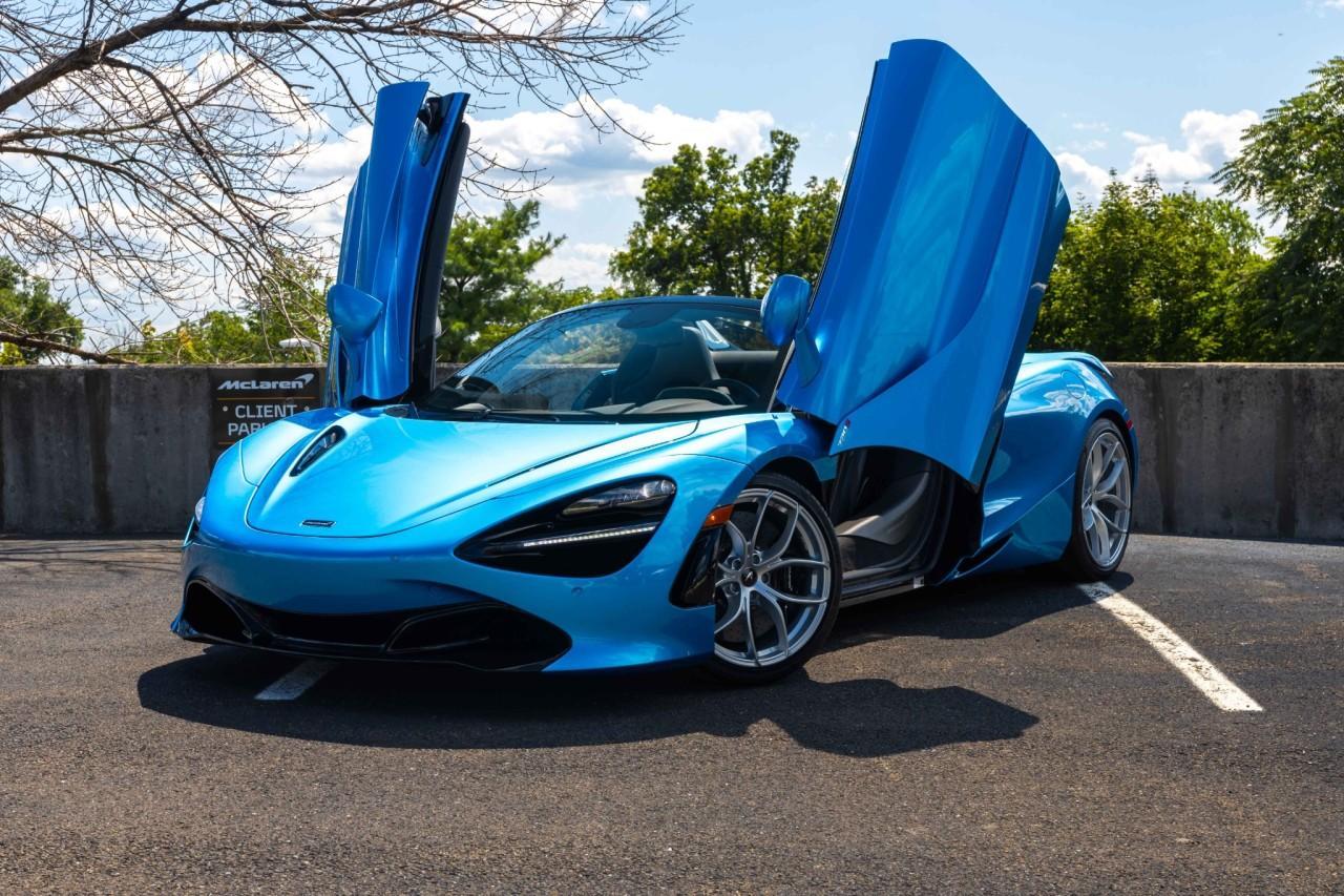 New 2020 McLaren 720S Luxury for sale $382,310 at McLaren North Jersey in Ramsey NJ 07446 2