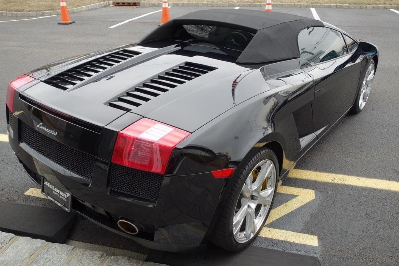 Used 2007 Lamborghini Gallardo Spyder for sale $119,000 at McLaren North Jersey in Ramsey NJ 07446 10