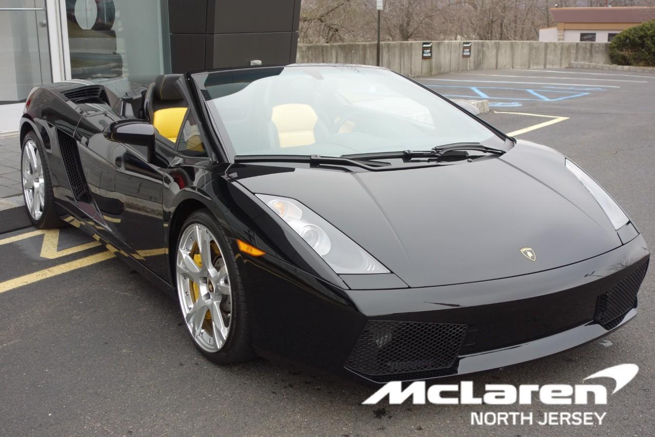 Used 2007 Lamborghini Gallardo Spyder for sale $119,000 at McLaren North Jersey in Ramsey NJ 07446 1