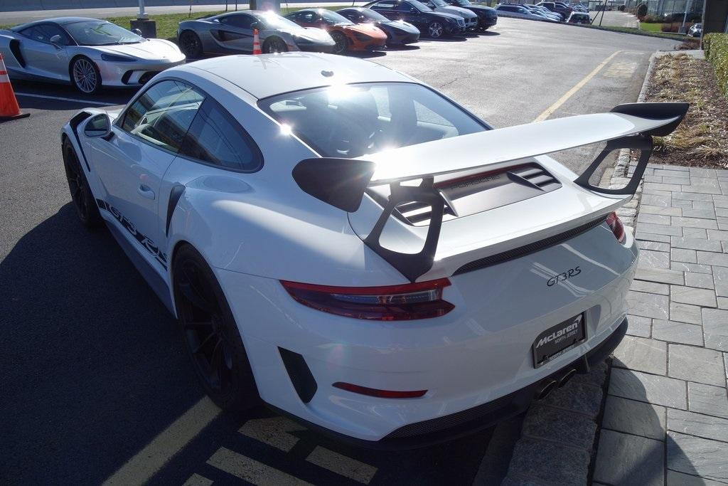 Used 2019 Porsche 911 GT3 RS for sale Sold at McLaren North Jersey in Ramsey NJ 07446 10