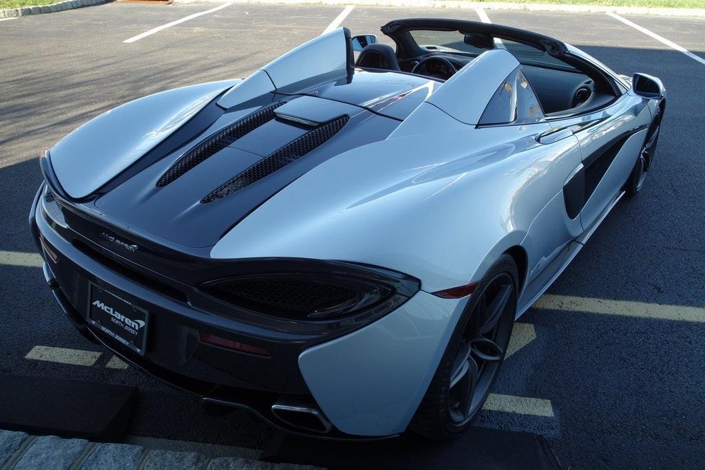 Used 2019 McLaren 570S Spider for sale $195,000 at McLaren North Jersey in Ramsey NJ 07446 10