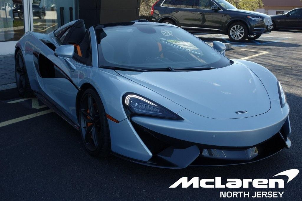 Used 2019 McLaren 570S Spider for sale $195,000 at McLaren North Jersey in Ramsey NJ 07446 1