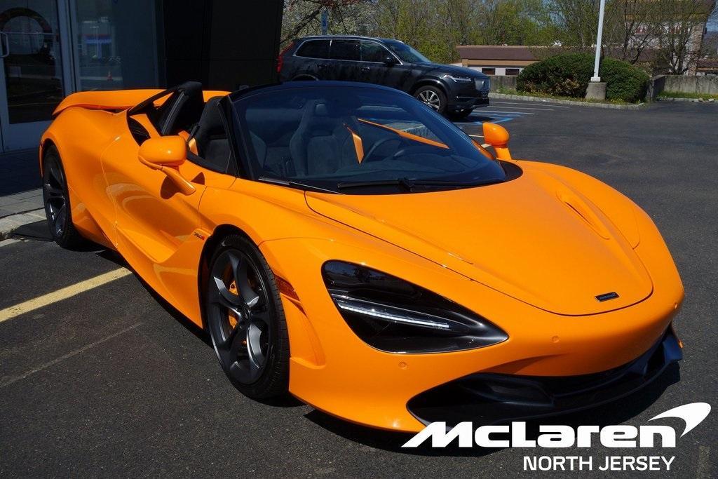New 2020 McLaren 720S Spider for sale $344,560 at McLaren North Jersey in Ramsey NJ 07446 1