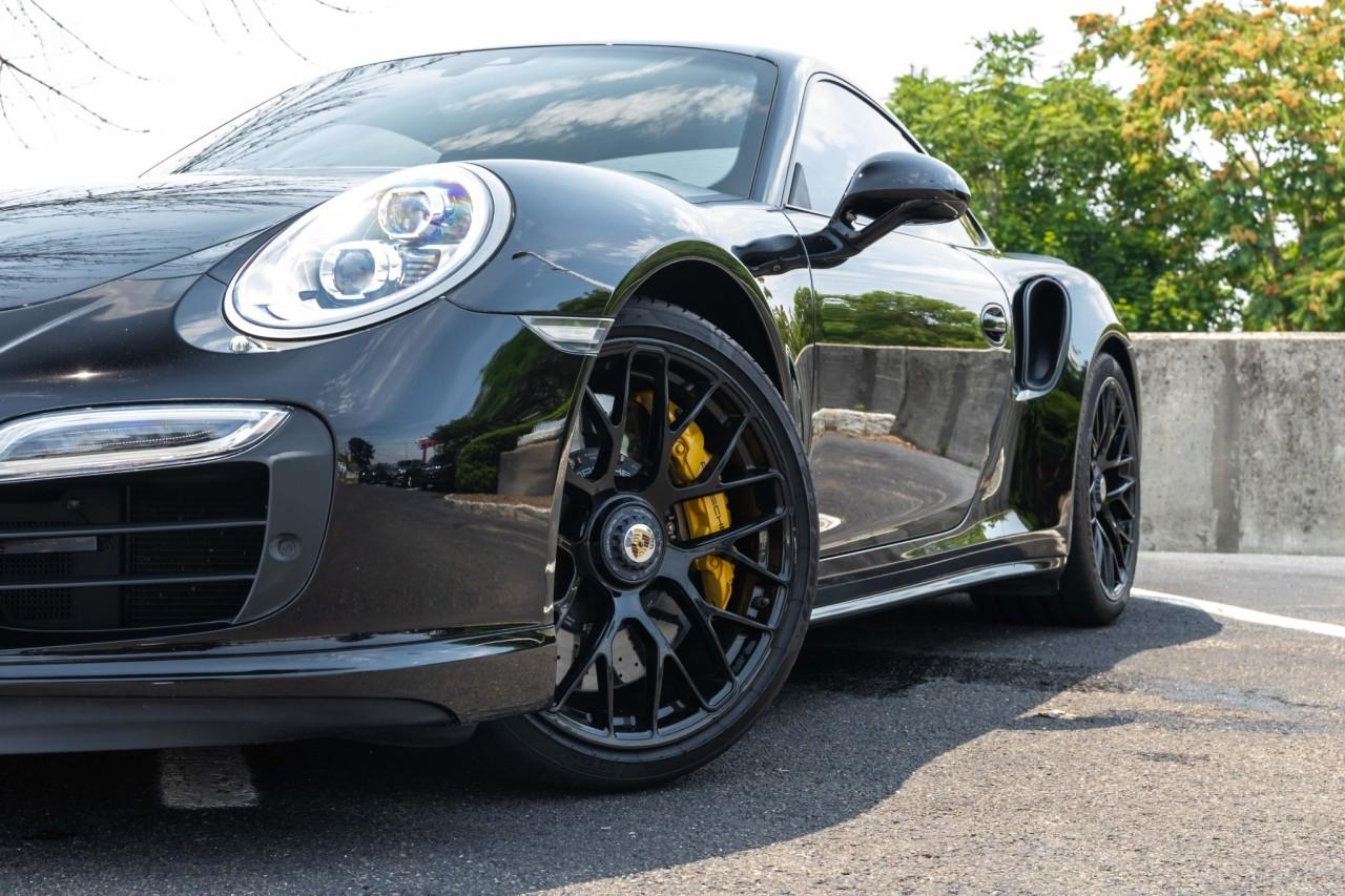 Used 2016 Porsche 911 Turbo S Coupe for sale $170,000 at McLaren North Jersey in Ramsey NJ 07446 2