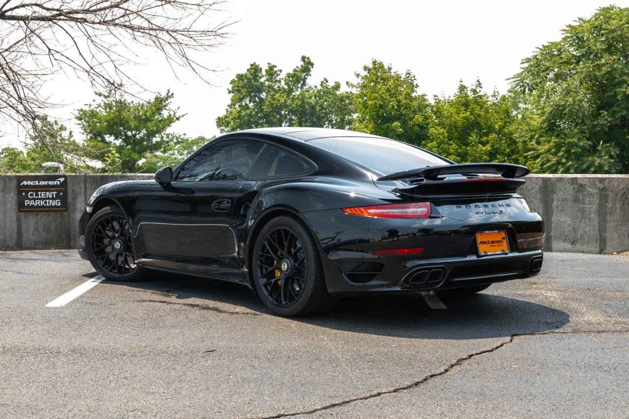 Used 2016 Porsche 911 Turbo S Coupe for sale $170,000 at McLaren North Jersey in Ramsey NJ 07446 4