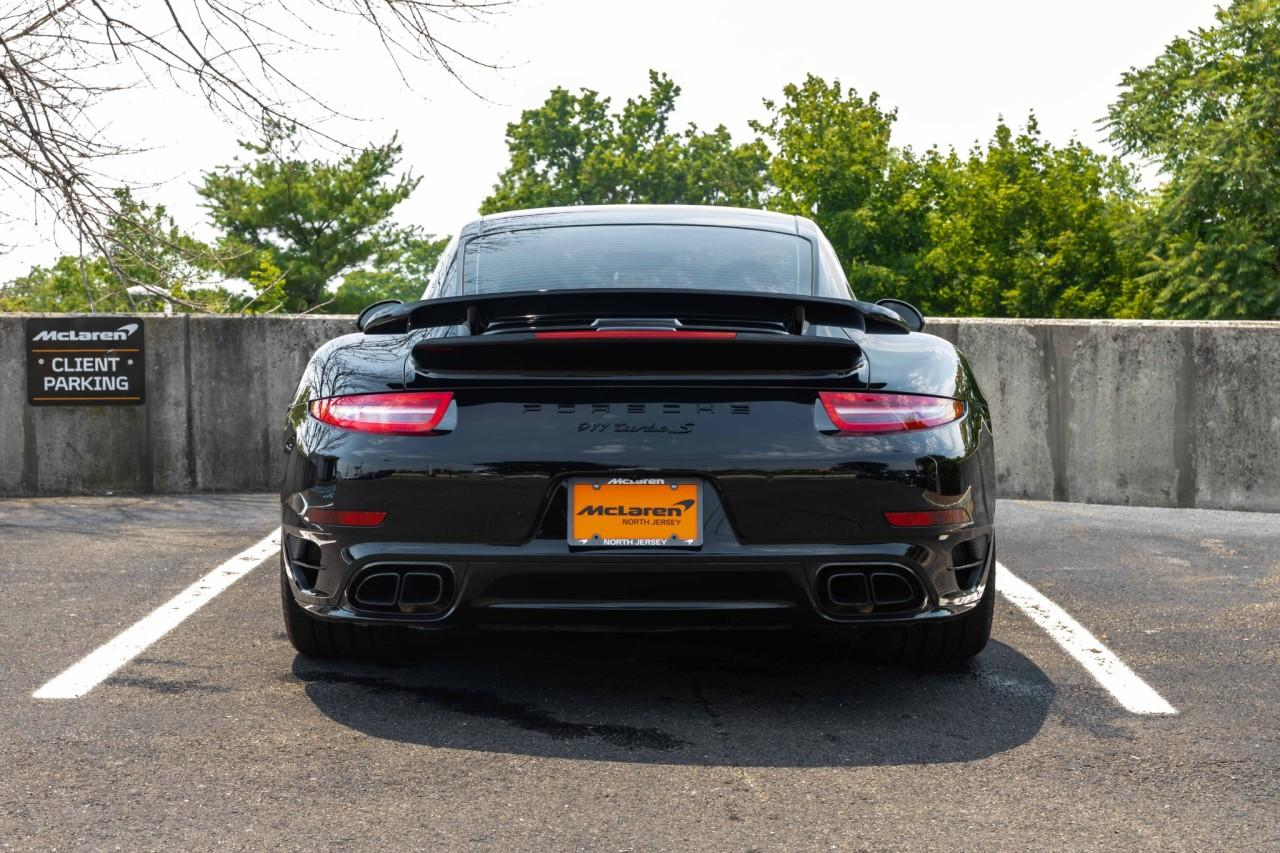 Used 2016 Porsche 911 Turbo S Coupe for sale $170,000 at McLaren North Jersey in Ramsey NJ 07446 5