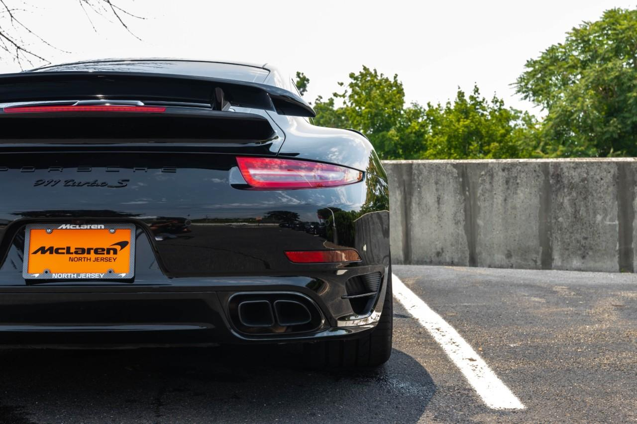 Used 2016 Porsche 911 Turbo S Coupe for sale $170,000 at McLaren North Jersey in Ramsey NJ 07446 6