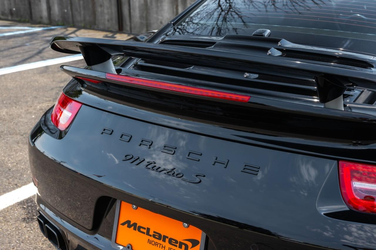 Used 2016 Porsche 911 Turbo S Coupe for sale $170,000 at McLaren North Jersey in Ramsey NJ 07446 7