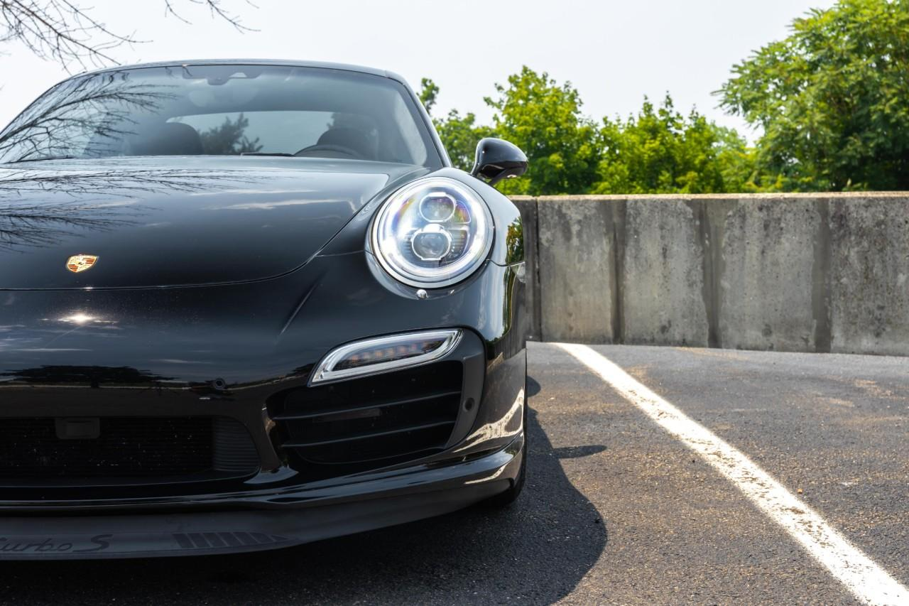 Used 2016 Porsche 911 Turbo S Coupe for sale $170,000 at McLaren North Jersey in Ramsey NJ 07446 8