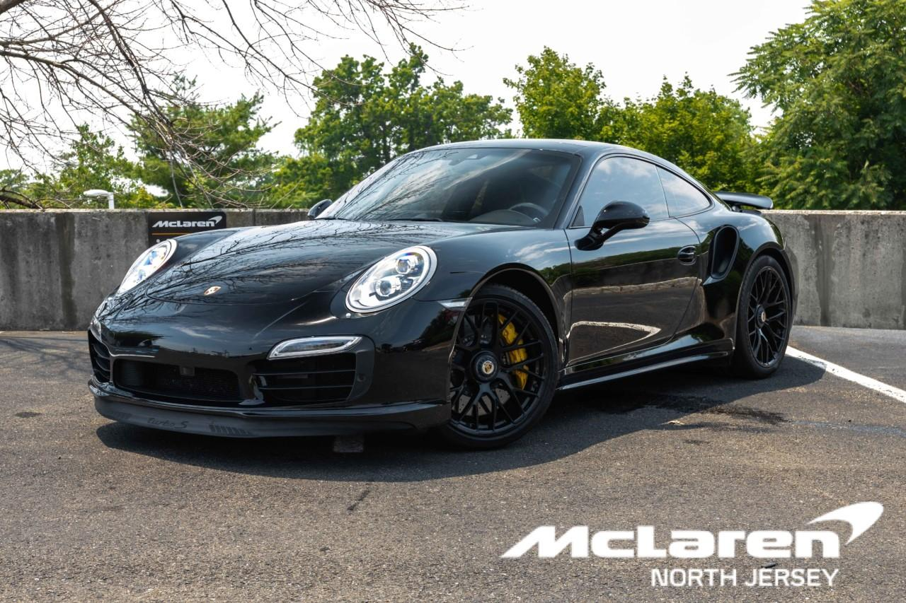 Used 2016 Porsche 911 Turbo S Coupe for sale $170,000 at McLaren North Jersey in Ramsey NJ 07446 1