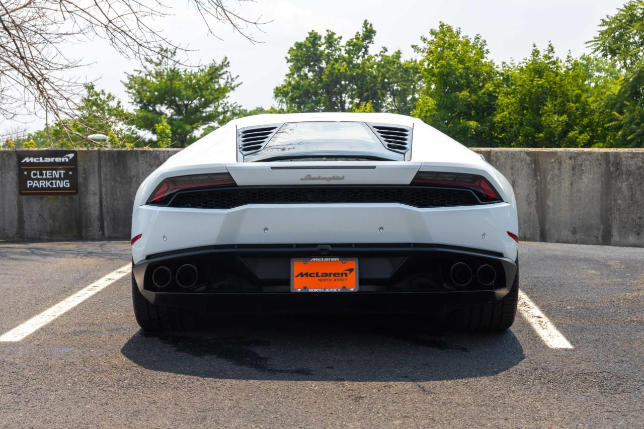Used 2016 Lamborghini Huracan LP610-4 Coupe for sale $225,000 at McLaren North Jersey in Ramsey NJ 07446 6