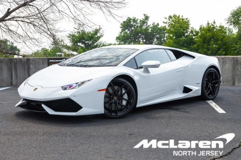 Used 2016 Lamborghini Huracan LP610-4 Coupe for sale $225,000 at McLaren North Jersey in Ramsey NJ