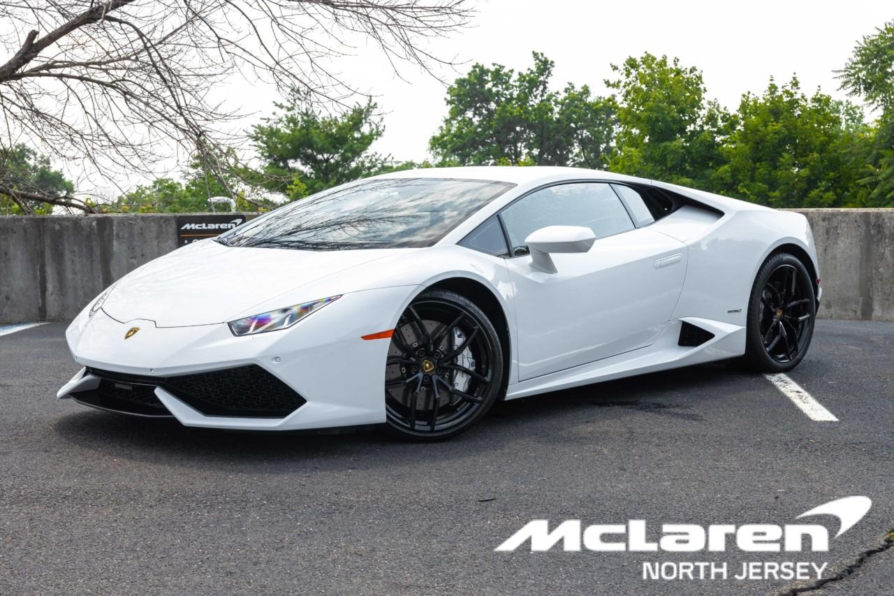 Used 2016 Lamborghini Huracan LP610-4 Coupe for sale $225,000 at McLaren North Jersey in Ramsey NJ 07446 1