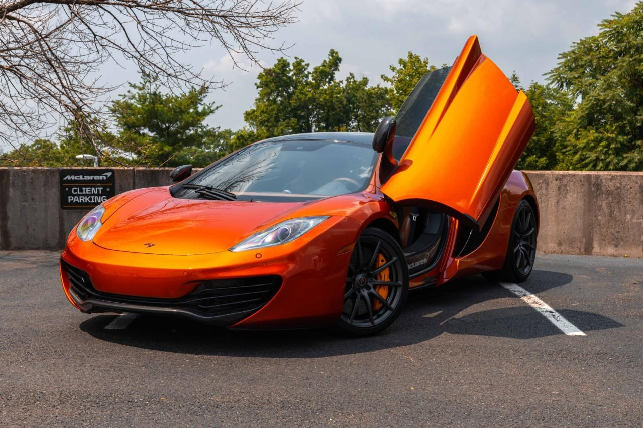 Used 2012 McLaren MP4-12C Coupe for sale Sold at McLaren North Jersey in Ramsey NJ 07446 2