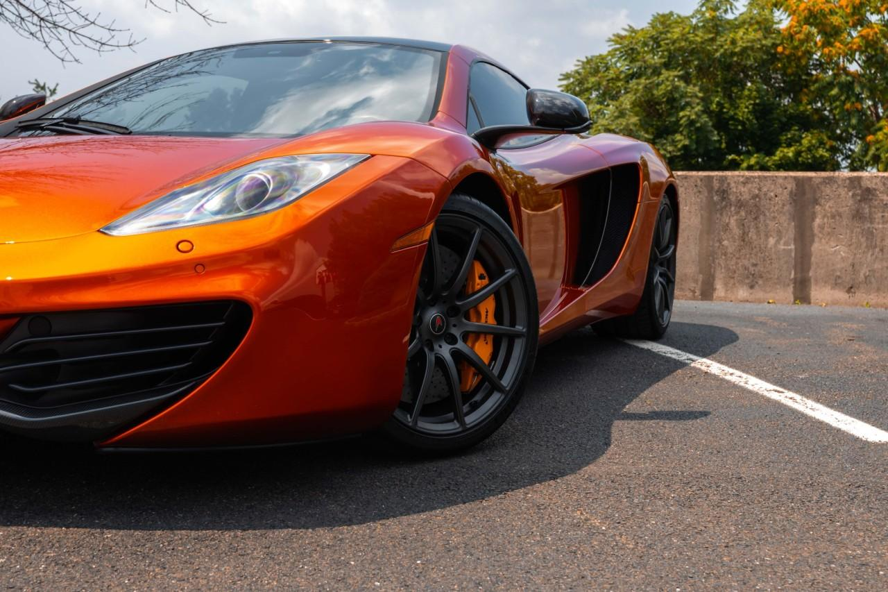 Used 2012 McLaren MP4-12C Coupe for sale Sold at McLaren North Jersey in Ramsey NJ 07446 3