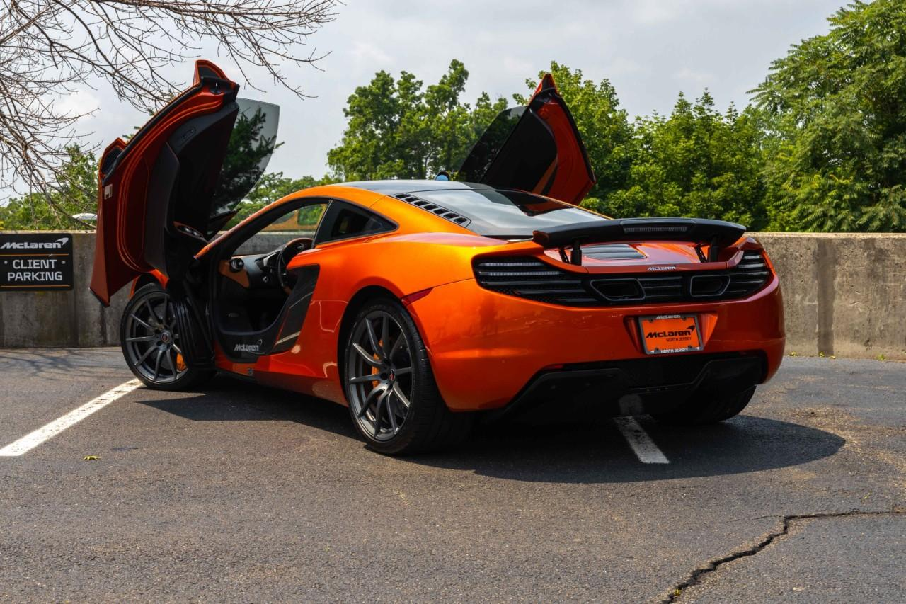 Used 2012 McLaren MP4-12C Coupe for sale Sold at McLaren North Jersey in Ramsey NJ 07446 6