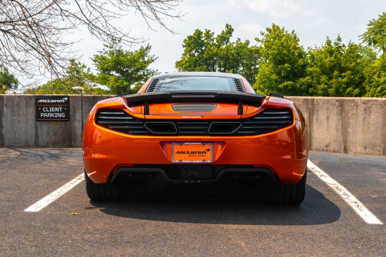 Used 2012 McLaren MP4-12C Coupe for sale Sold at McLaren North Jersey in Ramsey NJ 07446 7