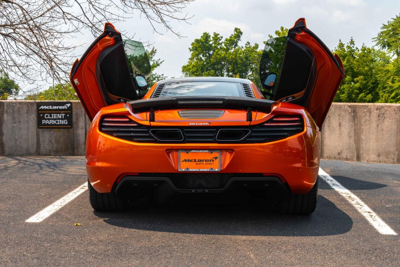 Used 2012 McLaren MP4-12C Coupe for sale Sold at McLaren North Jersey in Ramsey NJ 07446 8