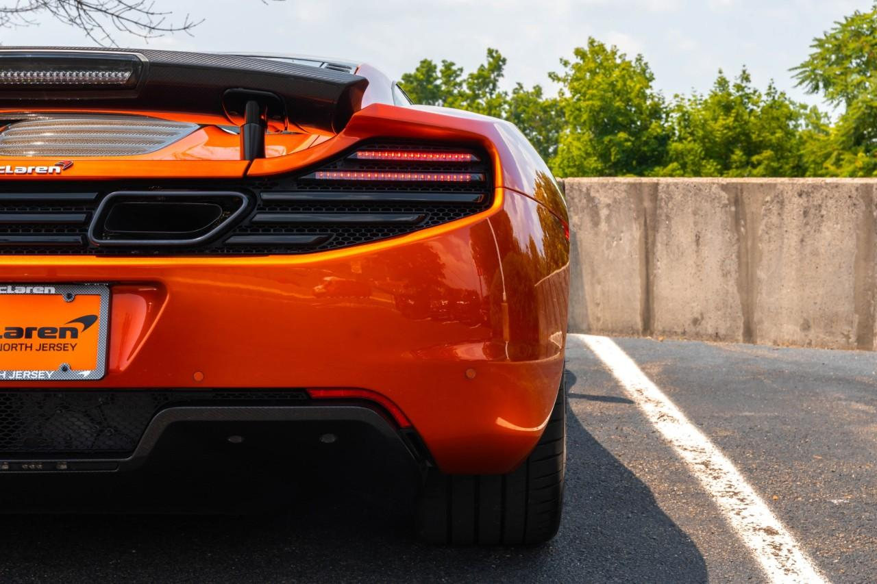 Used 2012 McLaren MP4-12C Coupe for sale Sold at McLaren North Jersey in Ramsey NJ 07446 9