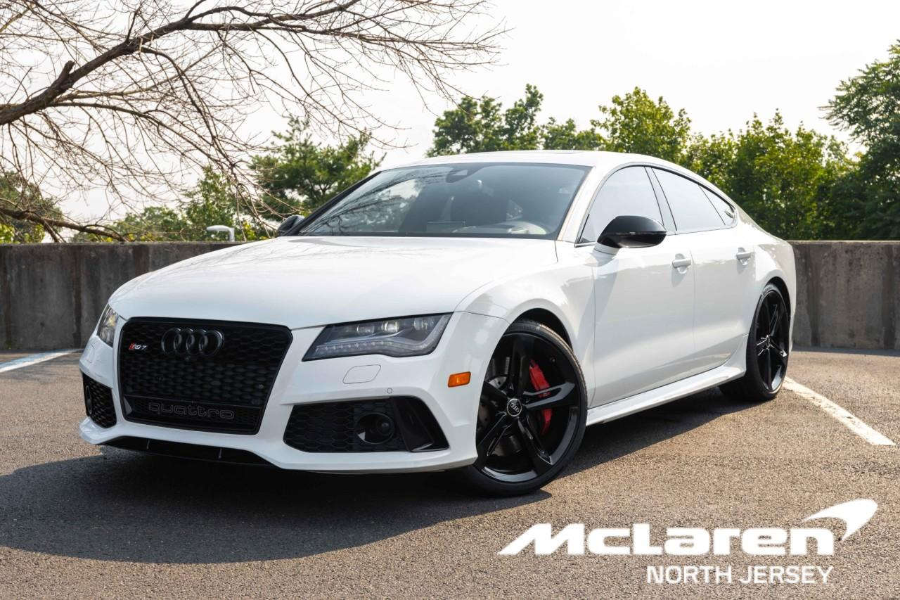 Used 2015 Audi RS 7 4.0T Prestige for sale $67,000 at McLaren North Jersey in Ramsey NJ 07446 1