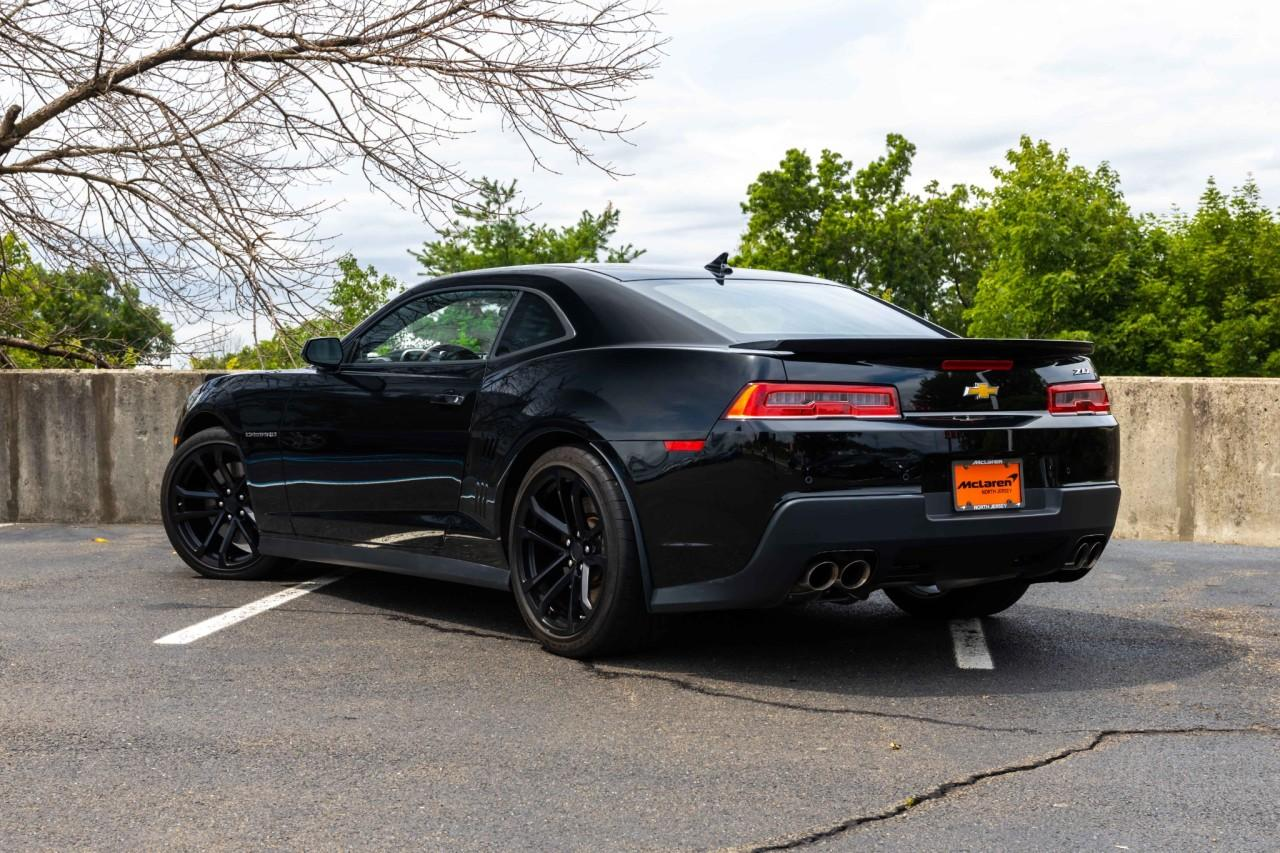 Used 2014 Chevrolet Camaro ZL1 for sale Sold at McLaren North Jersey in Ramsey NJ 07446 3