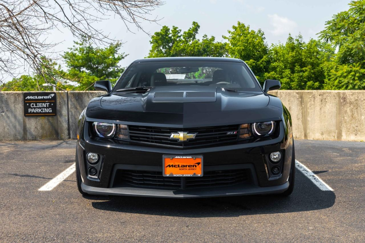 Used 2014 Chevrolet Camaro ZL1 for sale Sold at McLaren North Jersey in Ramsey NJ 07446 5