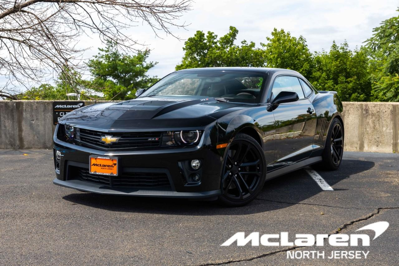 Used 2014 Chevrolet Camaro ZL1 for sale Sold at McLaren North Jersey in Ramsey NJ 07446 1