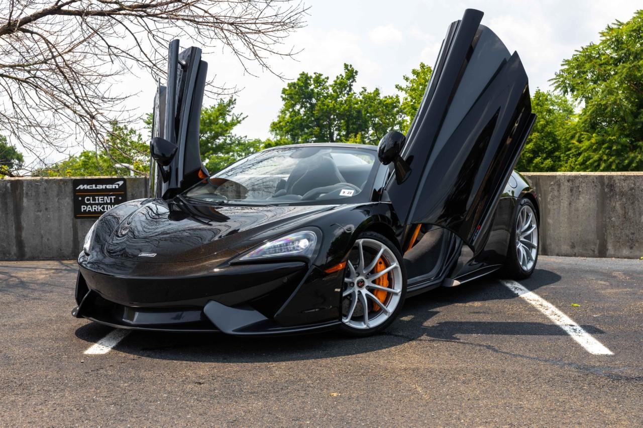 Used 2018 McLaren 570S Spider for sale Sold at McLaren North Jersey in Ramsey NJ 07446 2