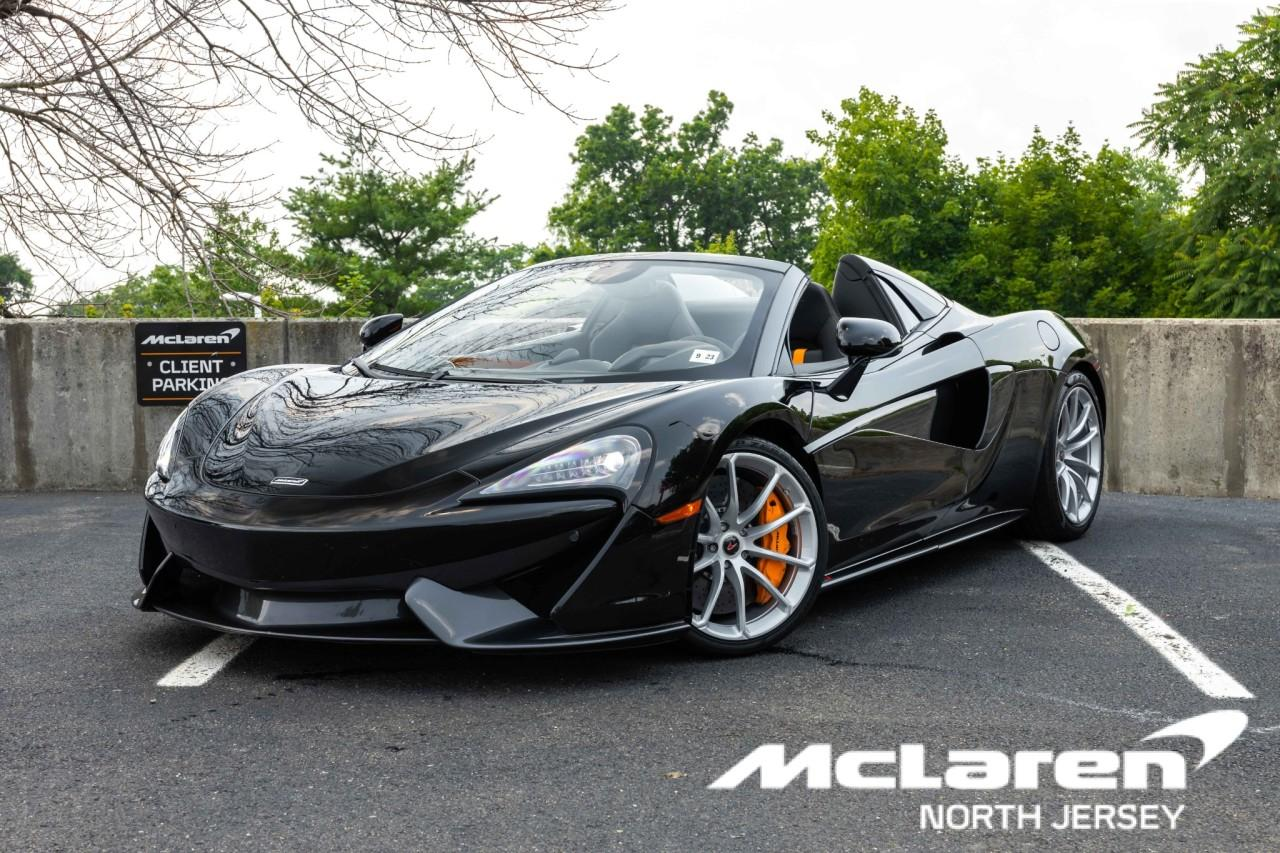 Used 2018 McLaren 570S Spider for sale Sold at McLaren North Jersey in Ramsey NJ 07446 1