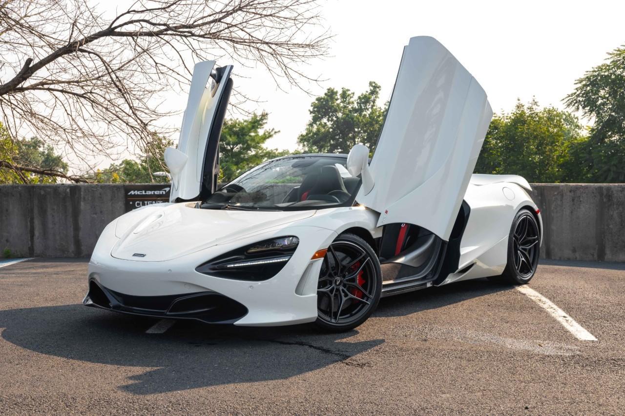 New 2021 McLaren 720S Spider for sale $353,716 at McLaren North Jersey in Ramsey NJ 07446 3
