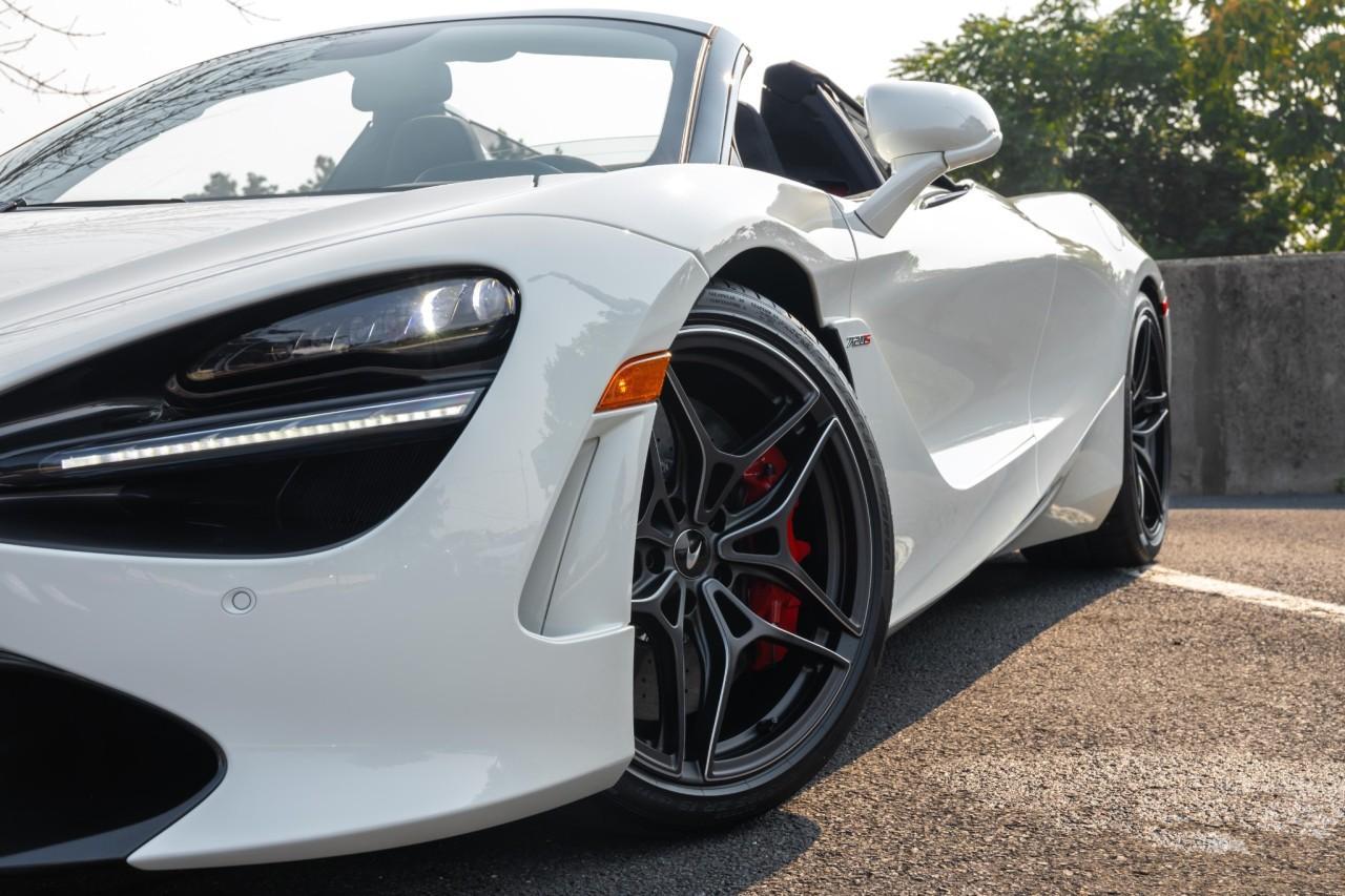 New 2021 McLaren 720S Spider for sale $353,716 at McLaren North Jersey in Ramsey NJ 07446 4