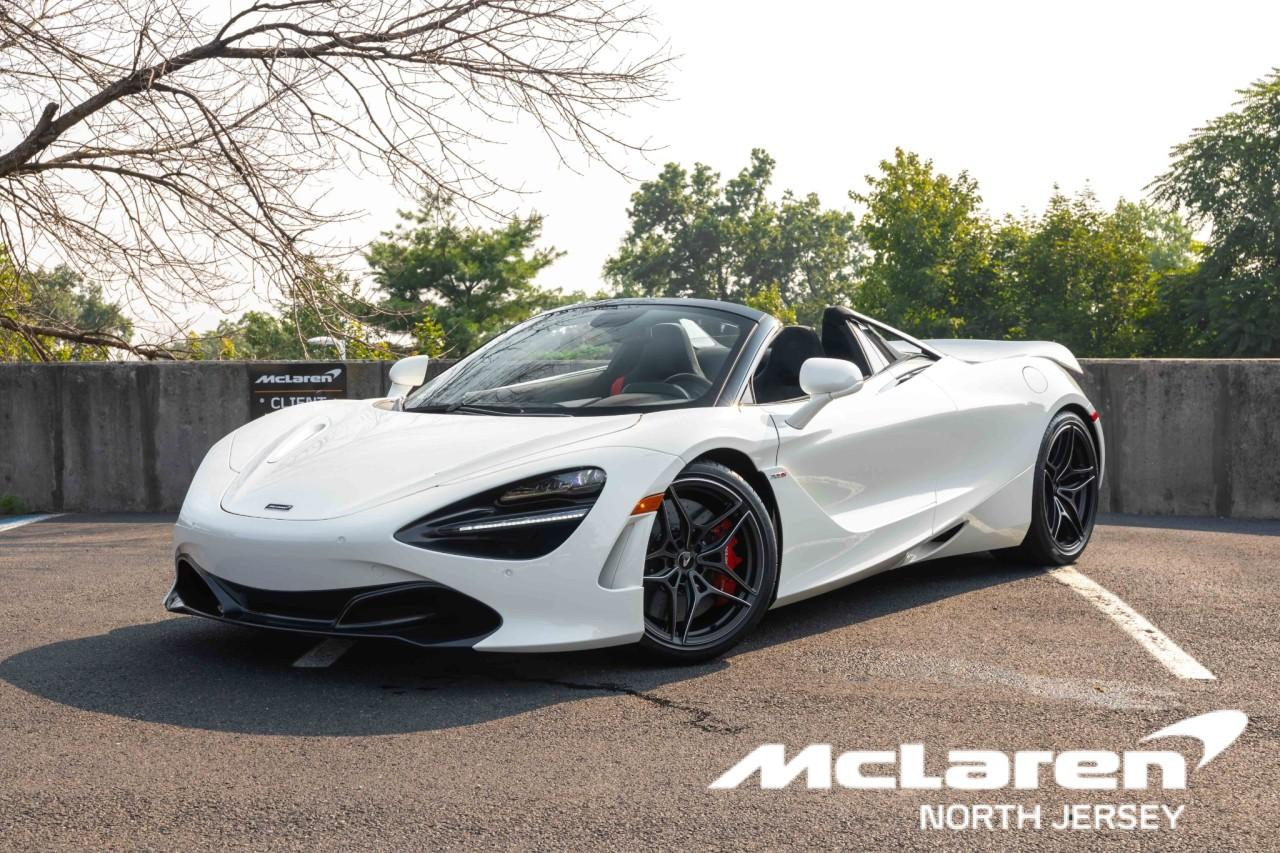 New 2021 McLaren 720S Spider for sale $353,716 at McLaren North Jersey in Ramsey NJ 07446 1
