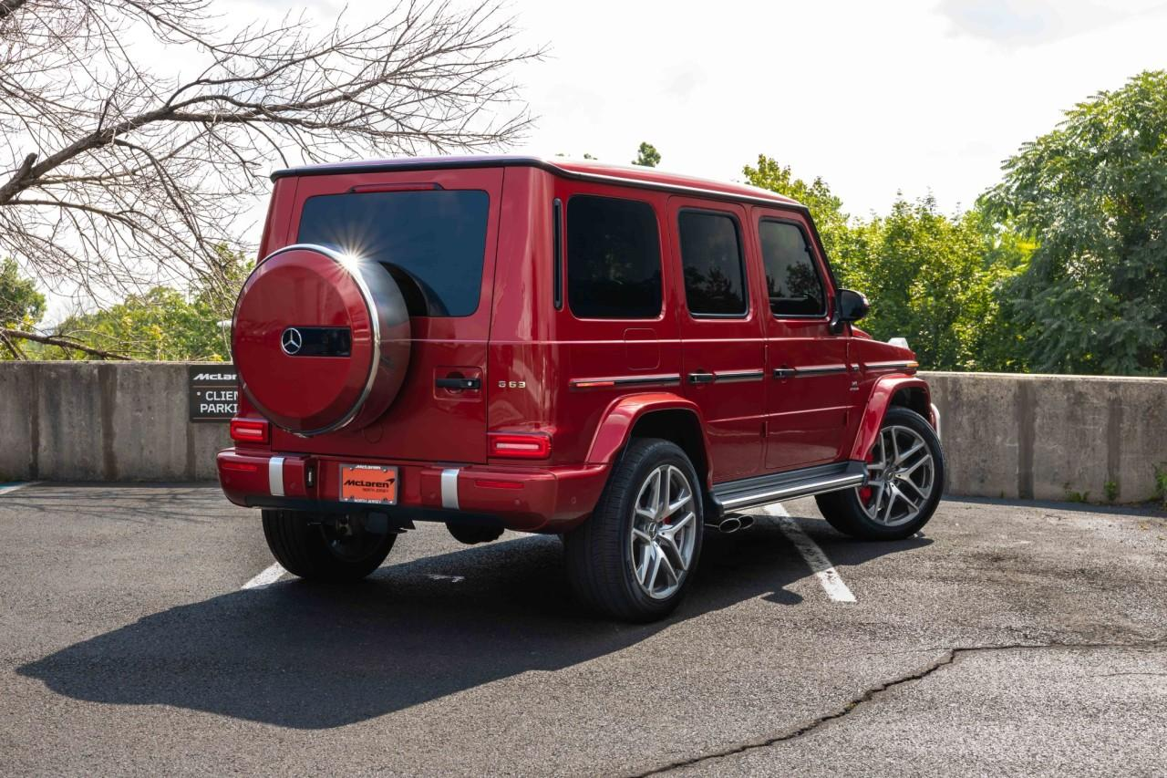 Used 2019 Mercedes-Benz G-Class AMG G 63 for sale Sold at McLaren North Jersey in Ramsey NJ 07446 7