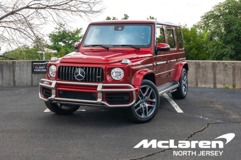 Used 2019 Mercedes-Benz G-Class AMG G 63 for sale $199,990 at McLaren North Jersey in Ramsey NJ
