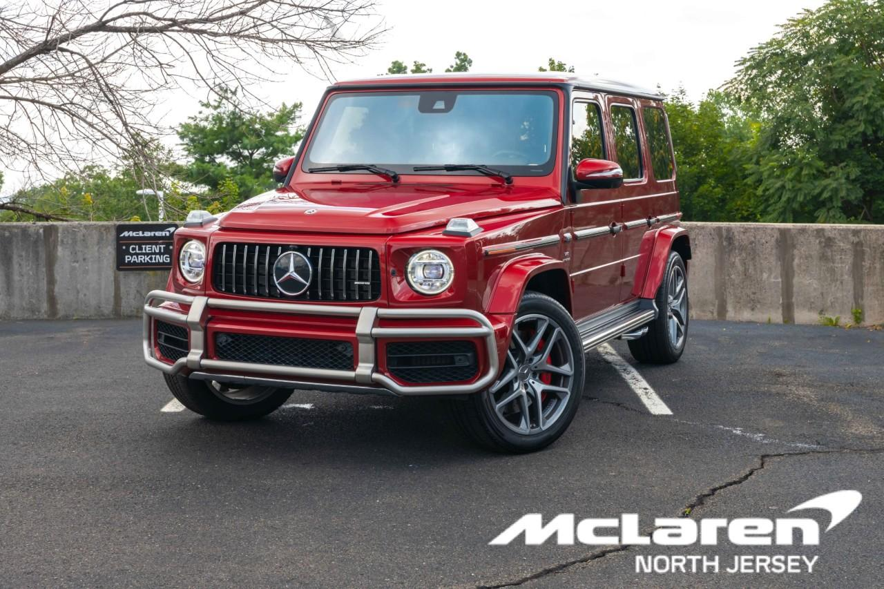 Used 2019 Mercedes-Benz G-Class AMG G 63 for sale Sold at McLaren North Jersey in Ramsey NJ 07446 1