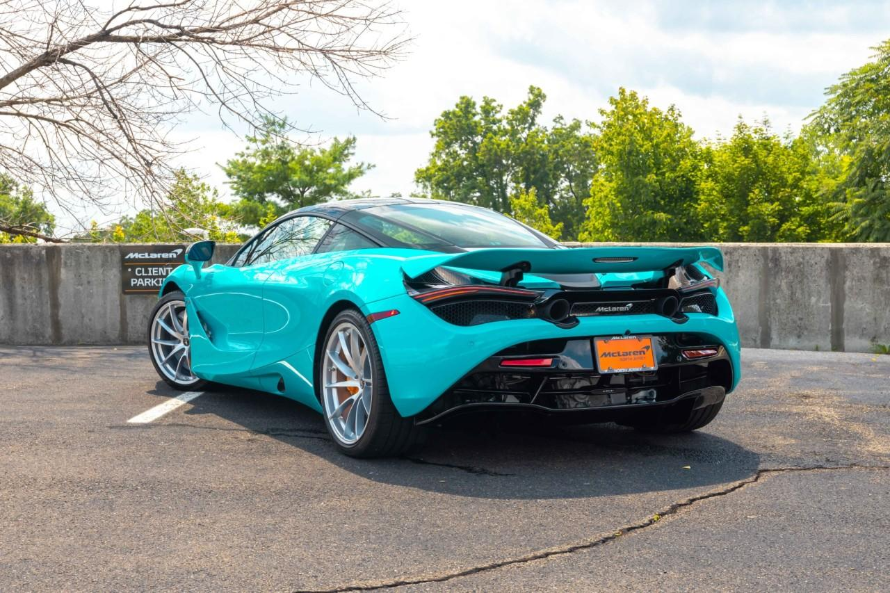 New 2021 McLaren 720S Performance Coupe for sale $354,180 at McLaren North Jersey in Ramsey NJ 07446 8