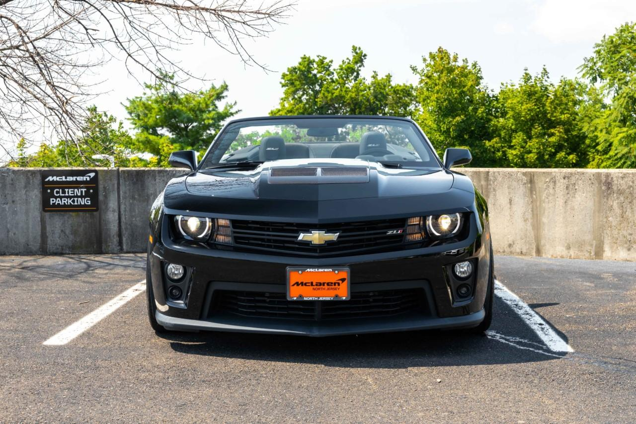 Used 2013 Chevrolet Camaro ZL1 Convertible for sale $49,900 at McLaren North Jersey in Ramsey NJ 07446 10