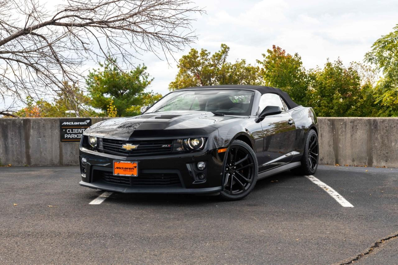 Used 2013 Chevrolet Camaro ZL1 Convertible for sale $49,900 at McLaren North Jersey in Ramsey NJ 07446 2