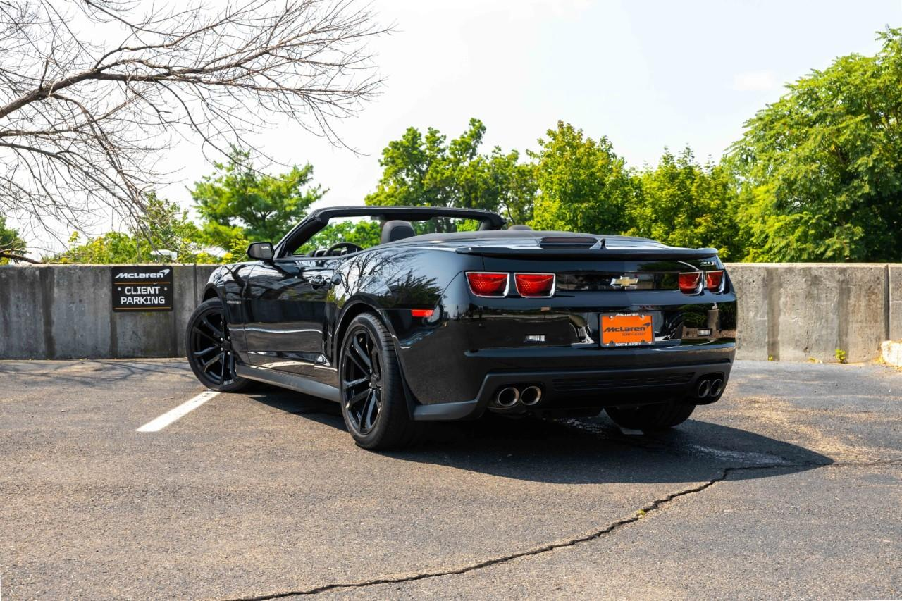 Used 2013 Chevrolet Camaro ZL1 Convertible for sale $49,900 at McLaren North Jersey in Ramsey NJ 07446 4