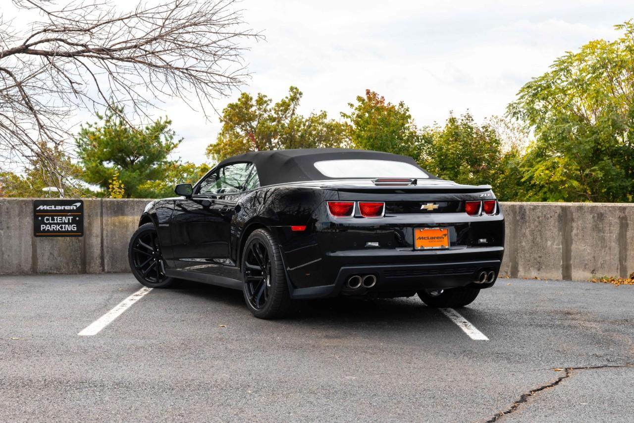 Used 2013 Chevrolet Camaro ZL1 Convertible for sale $49,900 at McLaren North Jersey in Ramsey NJ 07446 5