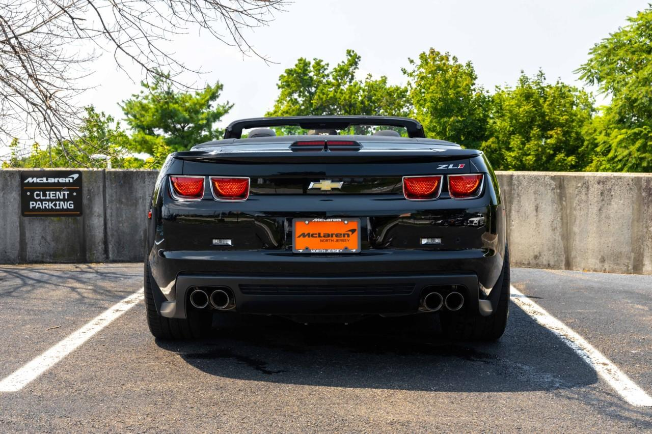 Used 2013 Chevrolet Camaro ZL1 Convertible for sale $49,900 at McLaren North Jersey in Ramsey NJ 07446 6