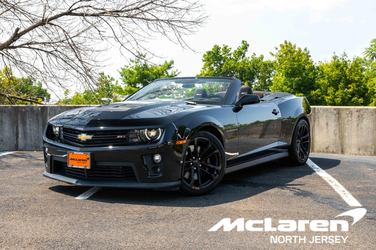 Used 2013 Chevrolet Camaro ZL1 Convertible for sale $49,900 at McLaren North Jersey in Ramsey NJ 07446 1