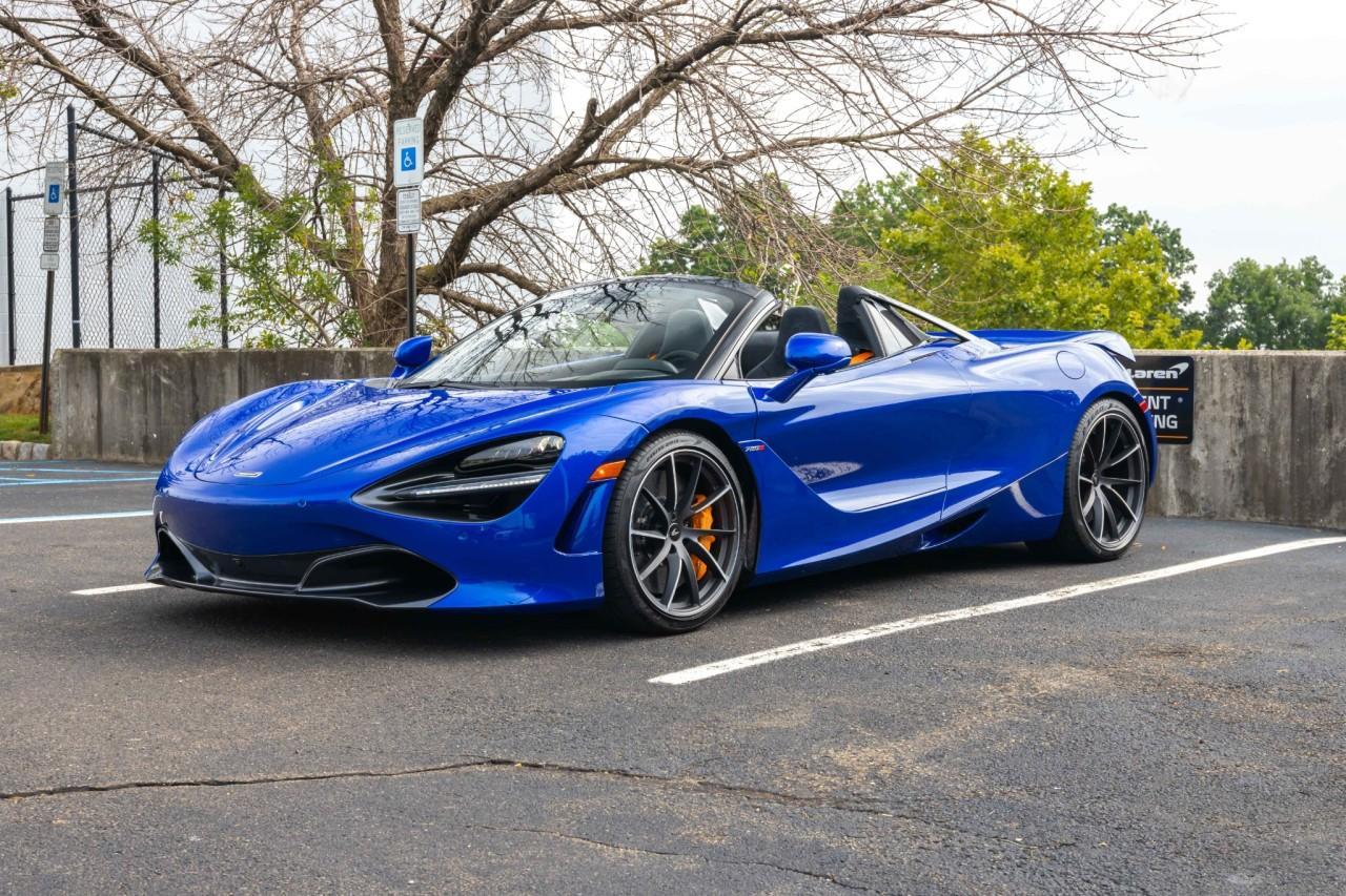 New 2021 McLaren 720S for sale $340,510 at McLaren North Jersey in Ramsey NJ 07446 2